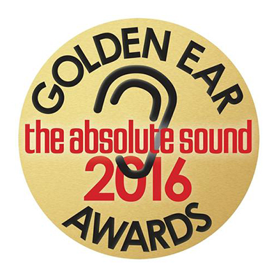 Image for product award - Golden Ear Award - Platinum PL500 II