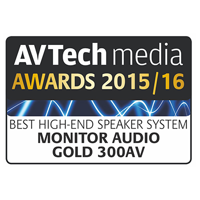 Image for product award - Gold 300 award: AV Tech Media Awards 2015/2016