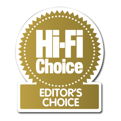 Image for product award - Bronze 2 award: Hi-Fi Choice Editors Choice