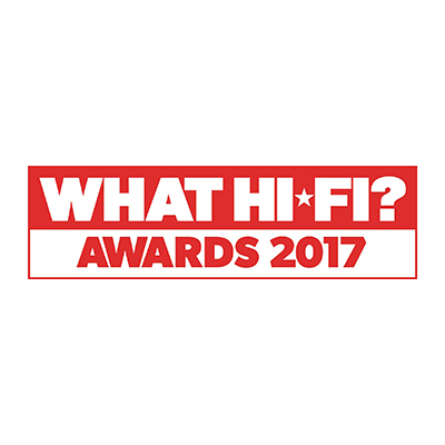 Díjnyertes termék - What Hi-Fi? Awards 2017