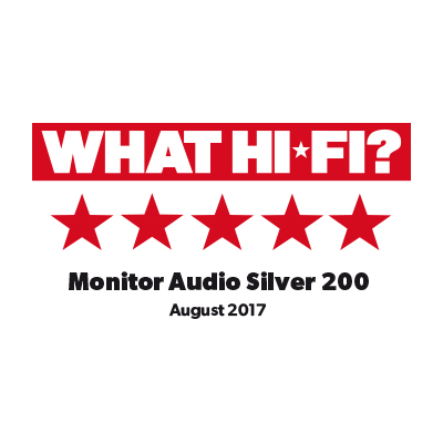 Díjnyertes termék - What Hi-Fi? review the new Silver 200's