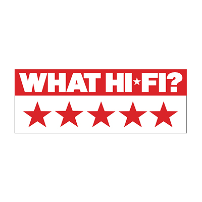 Image for product award - What Hi-Fi? gives Silver 200 AV12 5 Stars