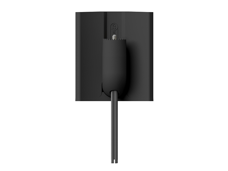 V-CORNER bracket, face-on, for the Vecta V240 on-wall speakers.