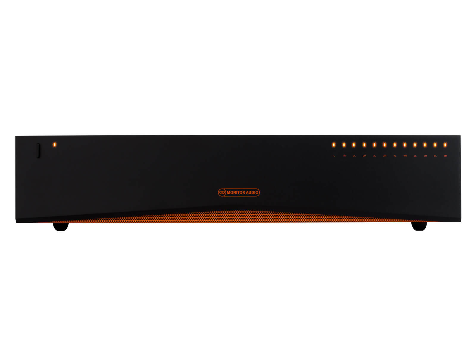 IA60-12 distribution amplifier, face-on view.