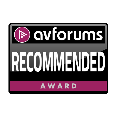 Image for product award - Silver 500 AV receives AV Forums Recommended Award