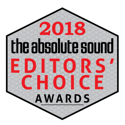 Image for product award - The Absolute Sound 2018 Editor's Choice Awards