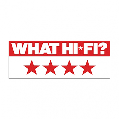 Image for product award - What Hi-Fi? gives Silver 50 4 stars