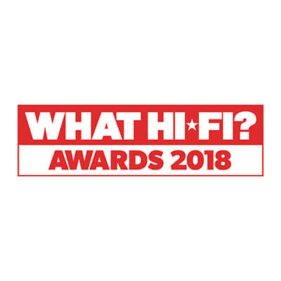 Image for product award - What Hi-Fi? Awards 2018