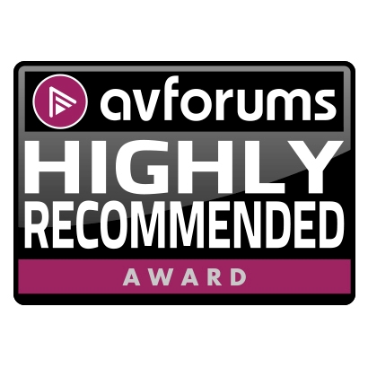 Image for product award - Gold 100 Award: AV Forums Highly Recommended