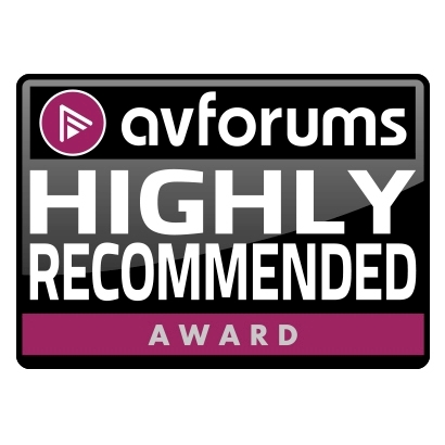 Image for product award - AV Forums highly recommends Monitor Series 5.1