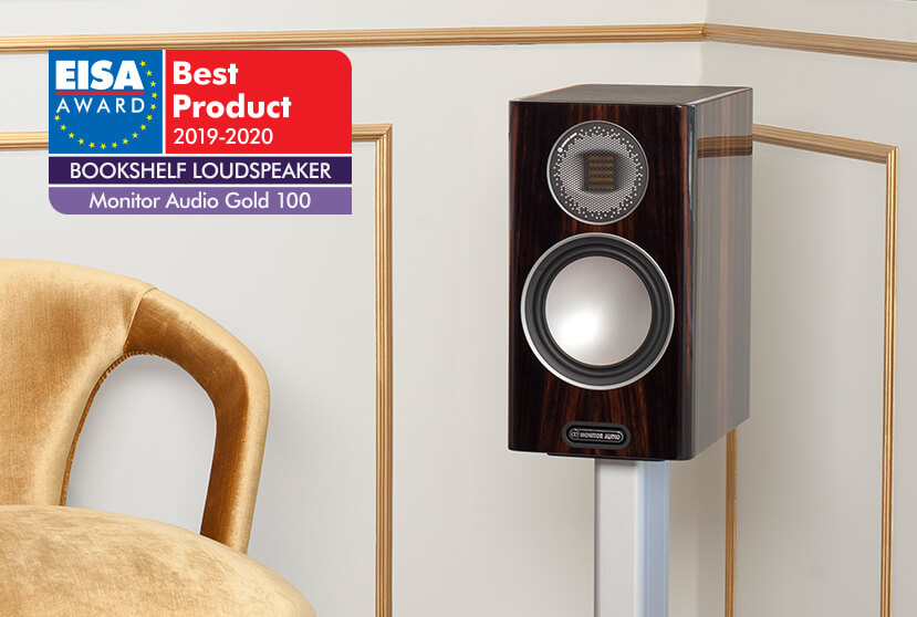 Best Bookshelf Speakers 2020.Gold 100 Wins An Eisa Best Product Award