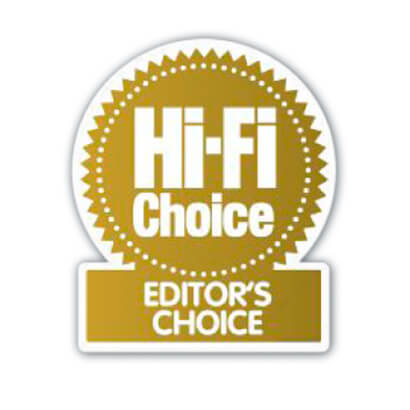 Image for product award - Gold 300 becomes Hi-Fi Choice's Editors Choice
