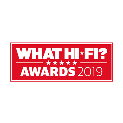 Image for product award - What Hi-Fi? Awards 2019