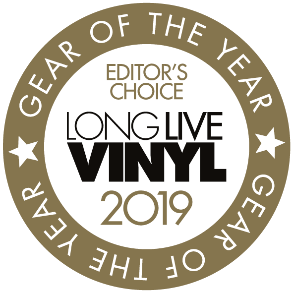Image for product award - Studio wins Long Live Vinyl's Gear of the Year award 2019