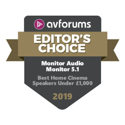 Image for product award - Monitor Series AV wins AVForums Editor's Choice Award