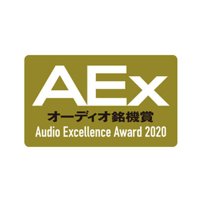 Image for product award - Gold Series wins AEx Audio Excellence Award 2020