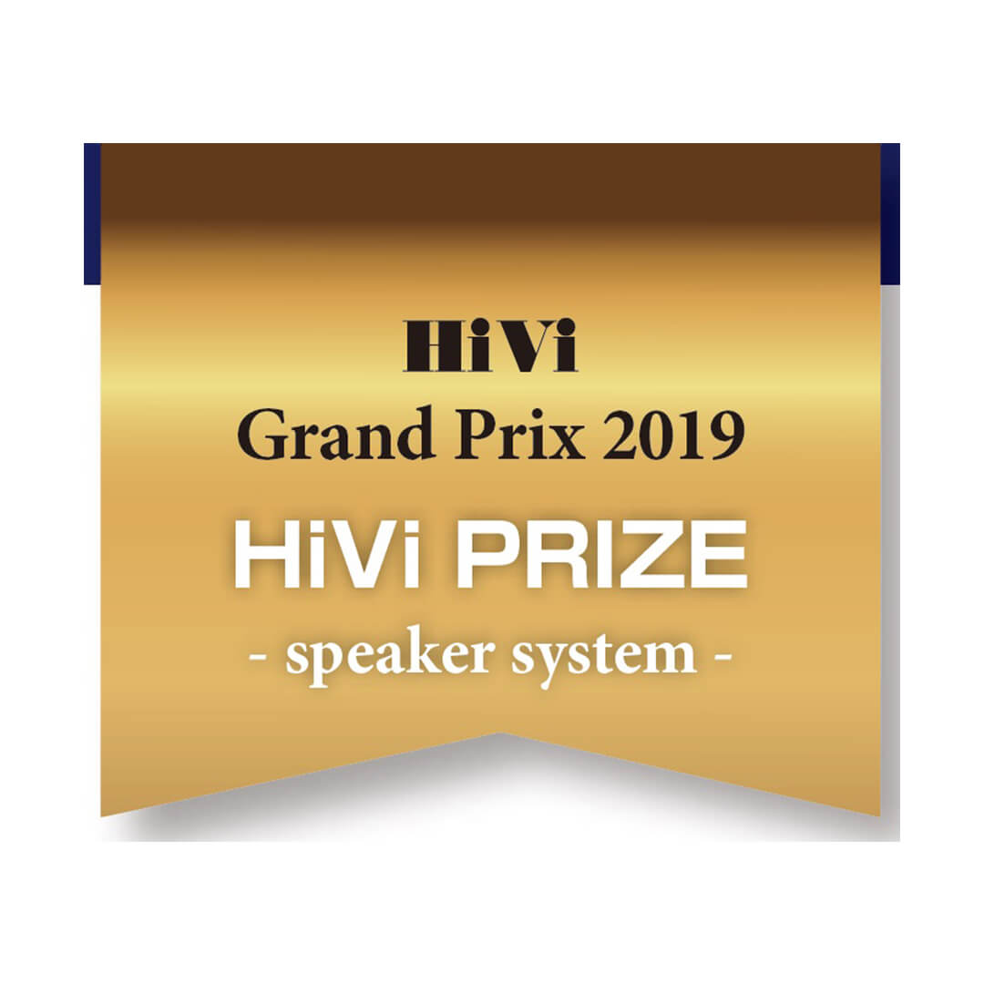 Image for product award - Gold Series wins HiVi Grand Prix award