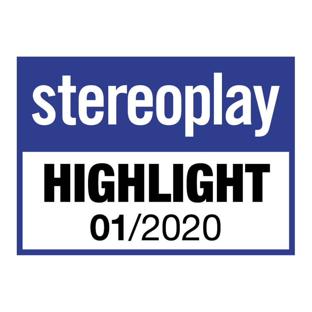 Image for product award - Gold 100 gets Highlight award from Stereoplay