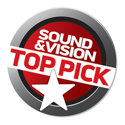 Image for product award - Sound and Vision makes our Silver 300 AV a Top Pick