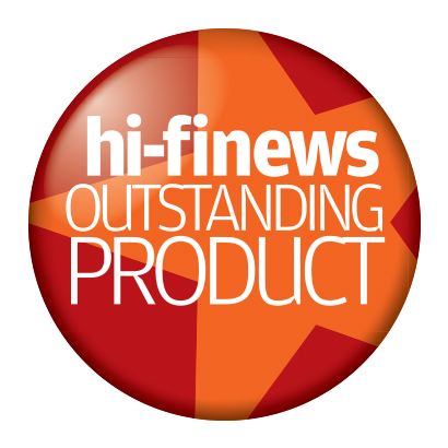 Image for product award - Bronze 100 wins Hi-Fi News 'Outstanding Product' Award