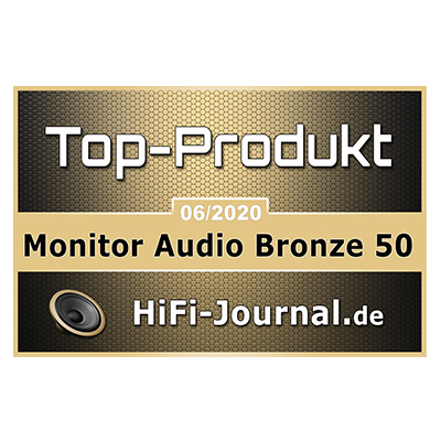 Image for product award - HiFi Journal gives Bronze 50 and W10 Top Product and Recommended Awards