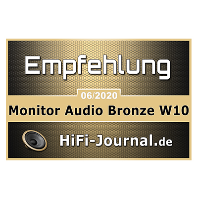 Image for product award - Hi-Fi Journal W10 - Award Icon Only