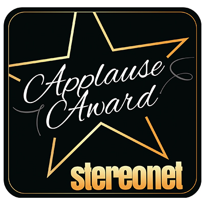 Image for product award - StereoNET gives our Bronze 50 their Applause Award in latest review