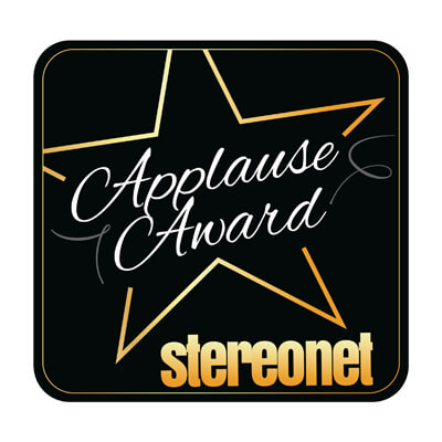 Image for product award - Our Bronze 100 speakers win Applause Award from Stereonet