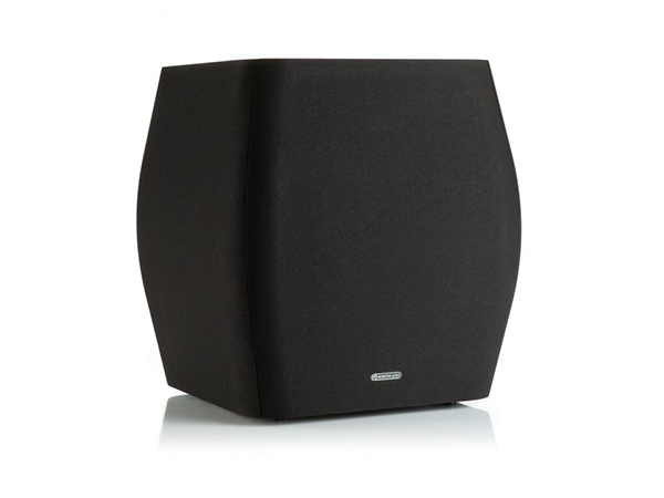 Mass WS200 subwoofer, face-on, with a black cloth grille.