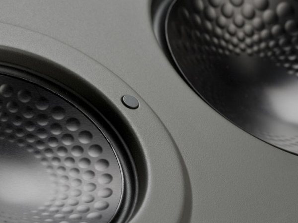 Controlled Performance CP-IW460X in-wall speakers, detail view.