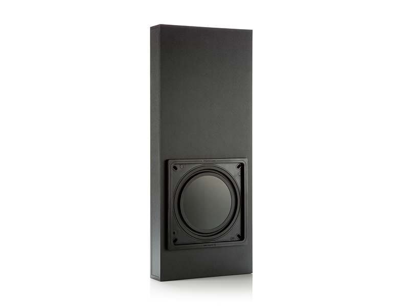 IWS-10 subwoofer, with IWB-10 pre-construction back box.