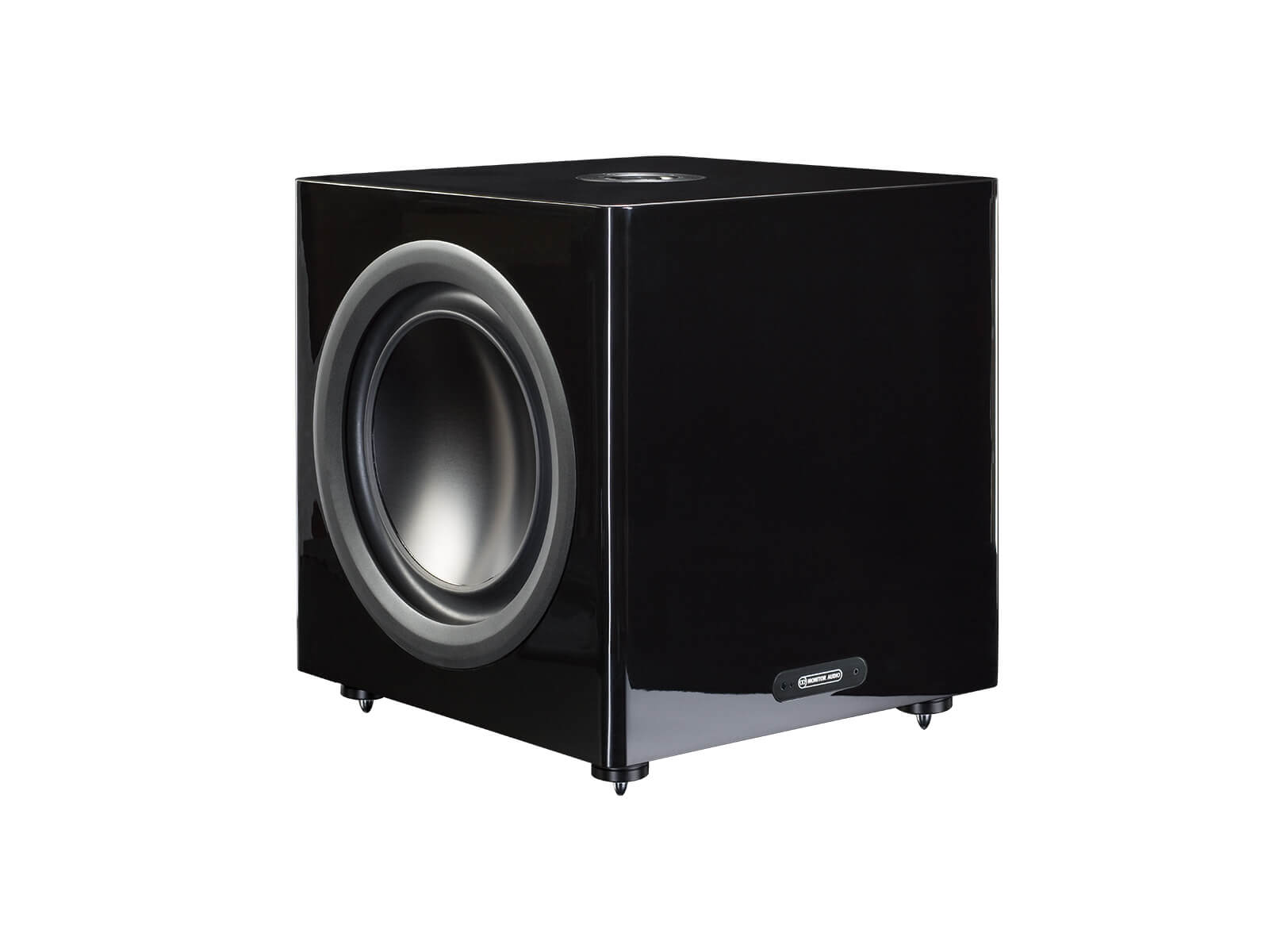 Platinum PLW215 II, subwoofer, with a piano black lacquer finish.