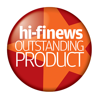 Image for product award - Gold 300 review: Hi-Fi News 'Outstanding Product'