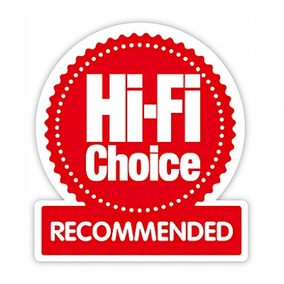 Image for product award - Silver 2 - Hi-Fi Choice Recommended
