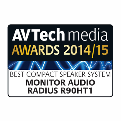 Image for product award - AV Tech Media Awards 2014/2015 - Radius R90HT1 and Silver 8