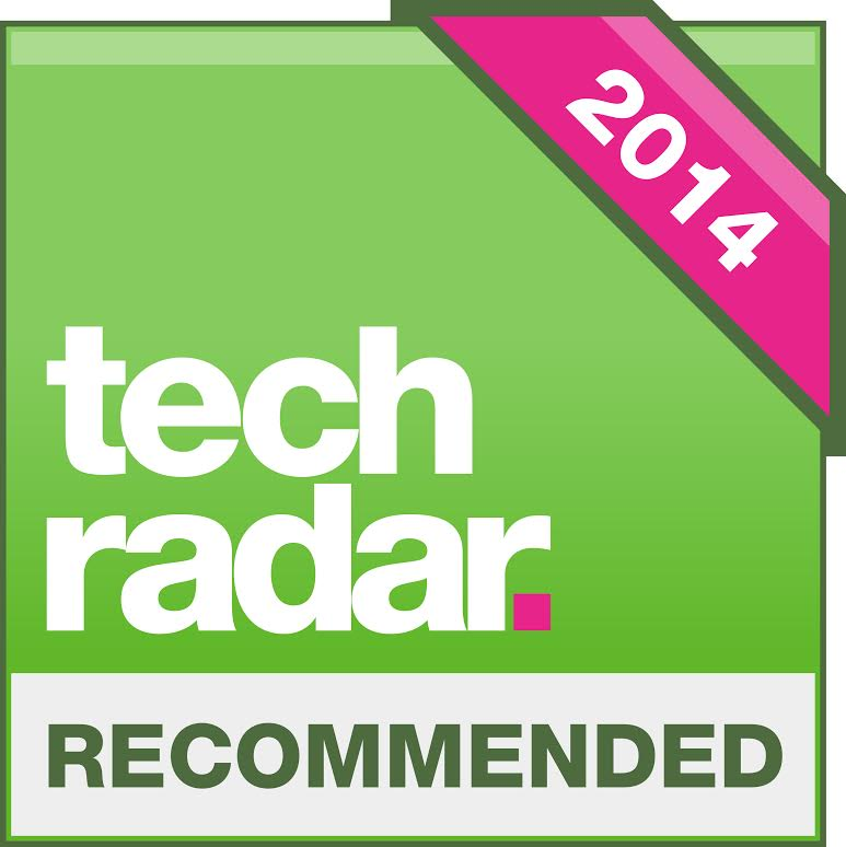 Image for product award - ASB-2 award: TechRadar 'Recommended' Award