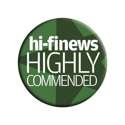 Image for product award - Gold GX200 review: Hi-Fi News Highly Commended
