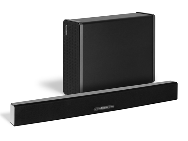 WS-10 subwoofer, with ASB-10 active Soundbar.